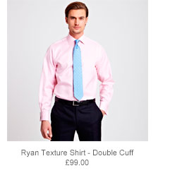 Ryan Texture Shirt - Double Cuff
