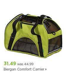 Bergan Comfort Carrier Green Pet Carrier