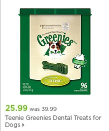 Greenies Dental Treats for Dogs Teenie