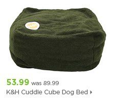 K&H Cuddle Cube Dog Bed