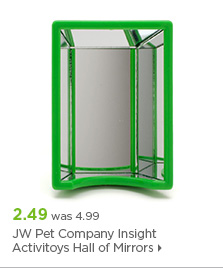 JW Pet Company Insight Activitoys Hall of Mirrors