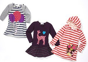 Girls' Fun Finds: Bows, Dots & Stripes