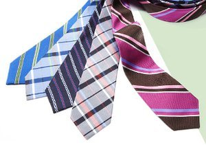 Armed for Spring: Bold Ties