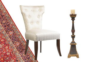 A Palatial Space: Décor & Rugs