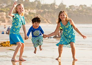 Beach Bums: Kids' Beachwear