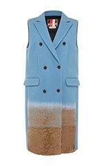 Sleeveless Wool Waistcoat