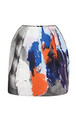Beauty and Art Jacquard Mini Skirt