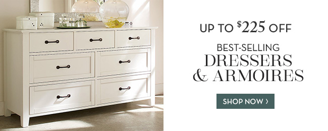 DRESSERS & ARMOIRES