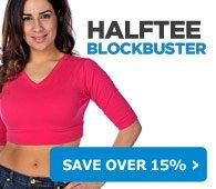 HALFTEE BLOCKBUSTER