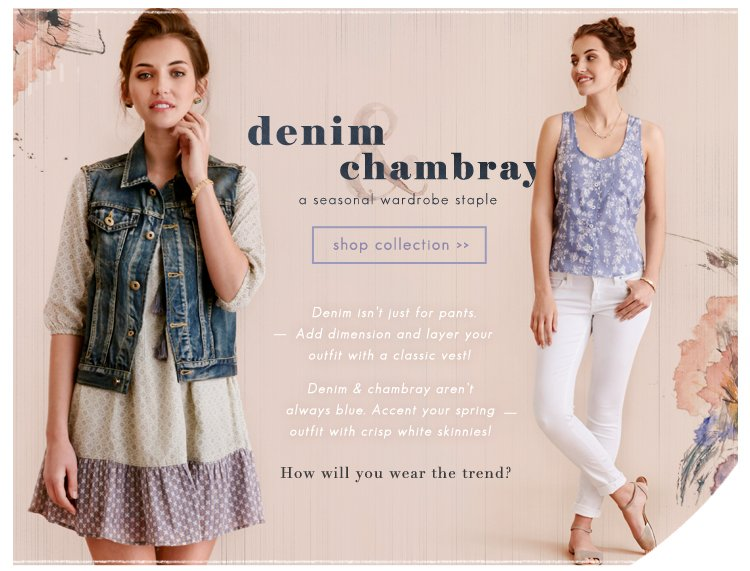 Denim & Chambray