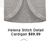 Helena Stitch Detail Cardigan