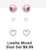 Lisette Mixed Stud Set