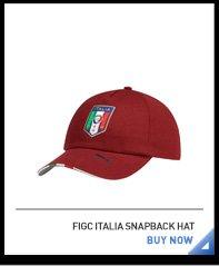 FIGC ITALIA SNAPBACK HAT BUY NOW
