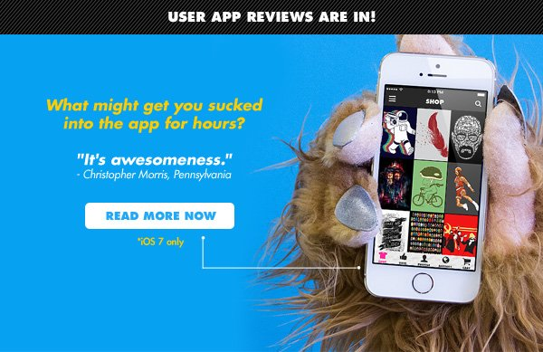 User App reviews are in!