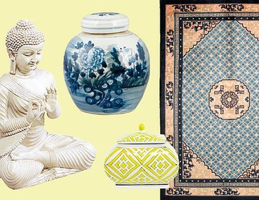 Asian Fusion: Vases, Rugs & More