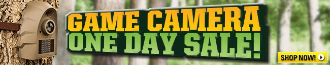 One Day Game Camera Sale from The Guide!
