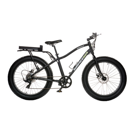 Element Wide Grip Electric Fat Bike // Matte Black
