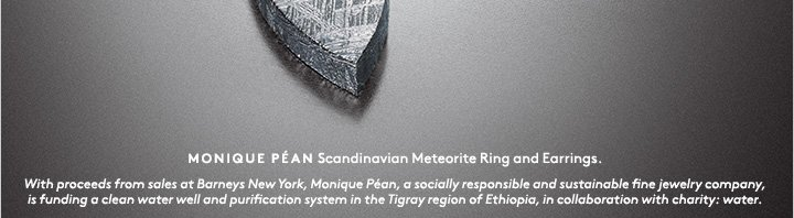 A ring and earrings of Scandinavian meteorite? That's just the beginning...