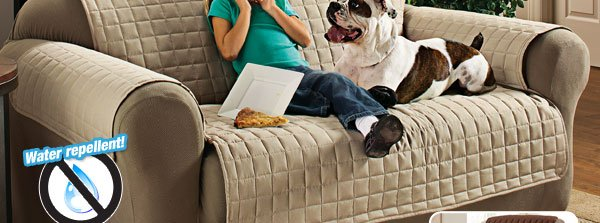 Protect your sofas, loveseats and recliners
