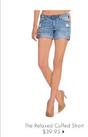 The Relaxed Cuffed Short - $39.95