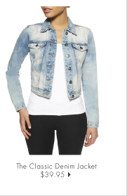 The Classic Denim Jacket - $39.95