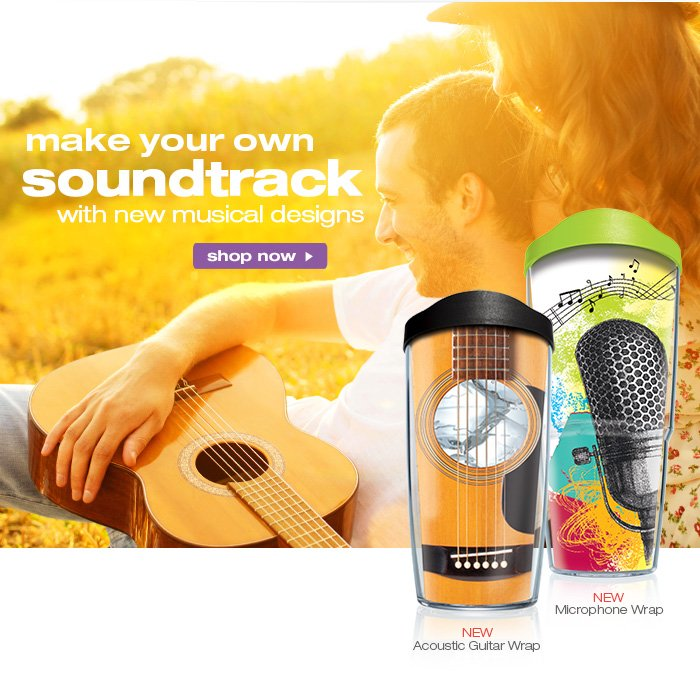 make your own soundtrack with new music designs