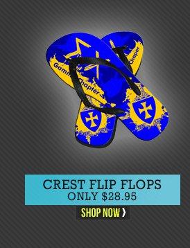 Crest Flip Flops