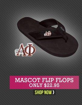 Mascot Flip Flops