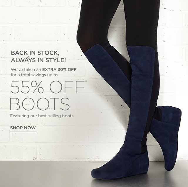 Up to 55% off Boots