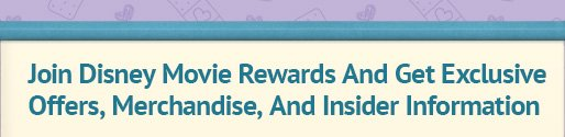 Join Disney Movie Rewards And Get Exclusive Offers, Merchandise, And Insider Information