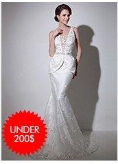 Wedding-Dresses Under $200