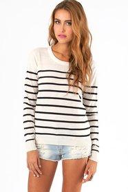 Sally Stripe Sweater $32
