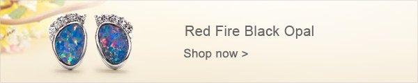Red Fire Black Opal