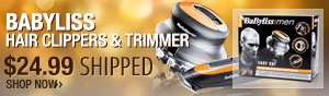 babyliss hair clippers and trimmer.