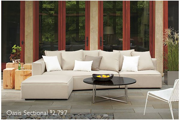 Oasis Sectional $2,797