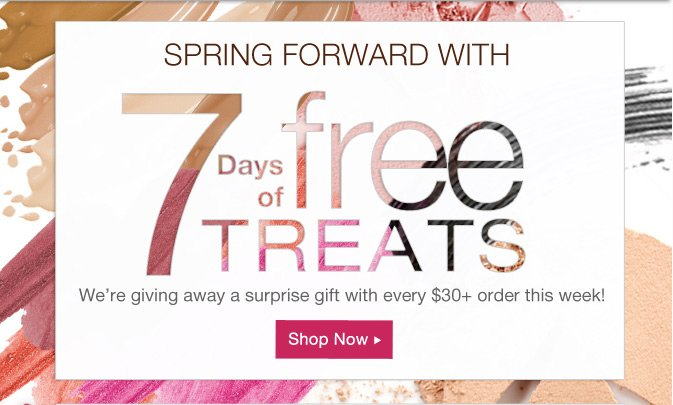 7 Days of FREE Treats! Click to Discover Thursday's Gift