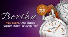 Bertha flash sale