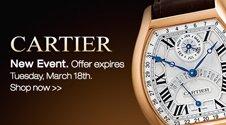 Cartier flash sale