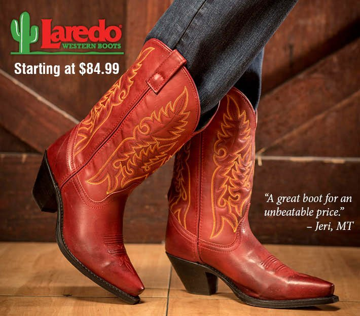 Laredo Western Boots Starting at $84.99