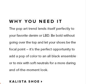 Kalista Shoe:
