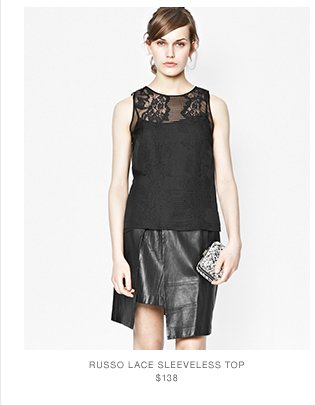 Russo Lace Sleevless Top