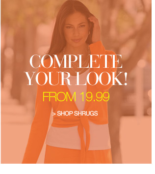 complete your look from 9.99 - shop shrugs