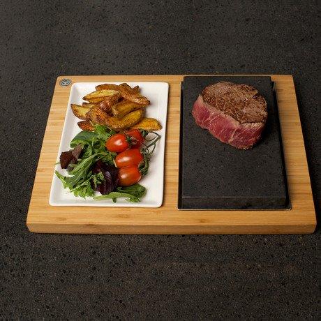 The SteakStones Steak & Sides Set