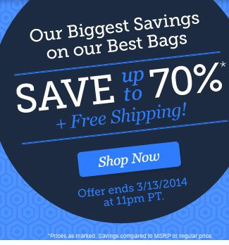 Save up to 70% plus Free Shipping! Shop Now!