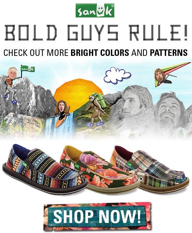 BOLD GUYS RULE