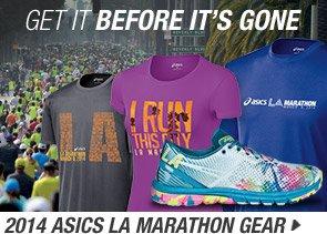 Shop the 2014 ASICS LA Marathon Collection - Promo A