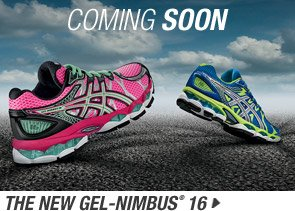 Learn more about the new GEL-Nimbus 16 Coming Soon - Promo B
