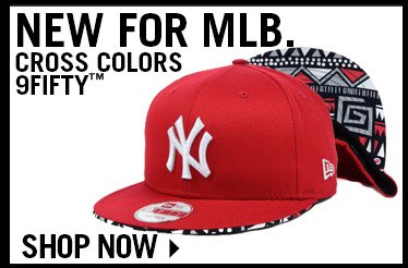 Shop MLB Cross Colors 9FIFTY Collection