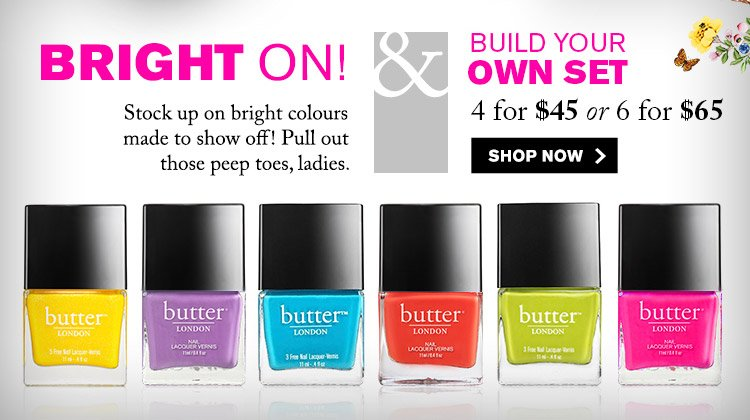 Bright Nail Lacquers