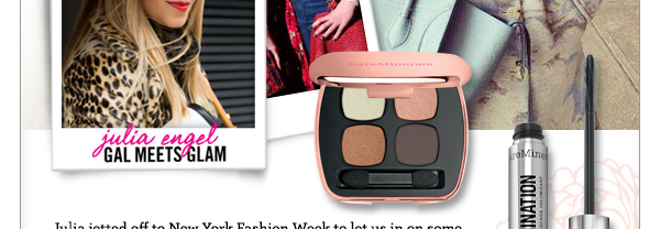 See Julia's favorite bareMinerals products